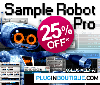 Sample Robot Pro 25% off Sale