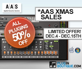 Applied Acoustics Systems Christmas 50% off sale.