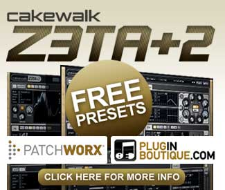 Free exclusive Z3TA + 2 presets from Plugin Boutique