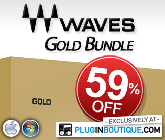 Waves Gold Native 59% off at Plugin Boutique