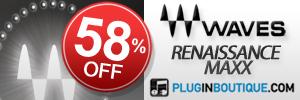 Waves Renaissance Maxx 58% off sale!