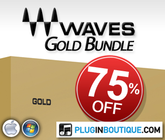 We're offering 75% off Waves' Gold & Silver Bundles this Black Friday!