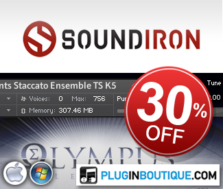 We would like to welcome SoundIron to Plugin Boutique with an introductory offer on their Kontakt Player Edition Soundbanks.