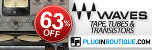 Waves Tape, Tubes and Transistors & Musicians 2 Black Friday Sale