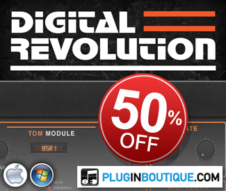 Wave Alchemy's Digital Revolution Kontakt Instrument is available for it's cheapest price yet!