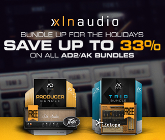 XLN Audio Christmas Deals have begun with 31% off their Addictive Keys Duo Bundle + Free iZotope Nectar Elements.