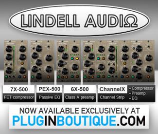 Lindell Audio Now Available at Plugin Boutique