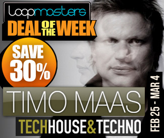 Loopmasters Deal Of The Week - Timo Maas