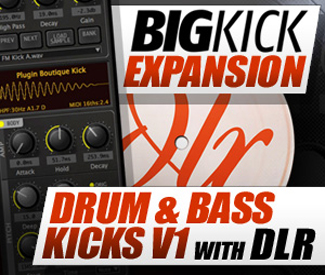 BigKick Expansion V3 - Drum & Bass Kicks with DLR