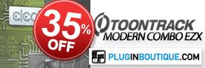 ToonTrack Modern Combo EZX Bundle Sale
