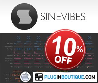 Sinevibes 10% Sale