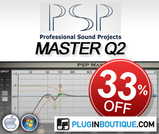 PSP MasterQ2 33% off Sale