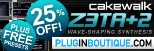 Cakewalk Z3ta+2 April Sale