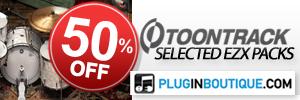ToonTrack EZX Packs May Sale