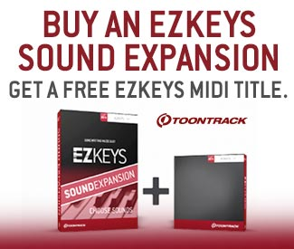 ToonTrack EZKeys Sounds Expansion Offer