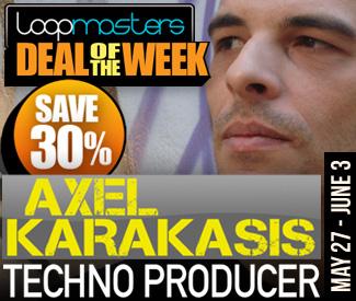 Loopmasters Deal Of The Week - Axel Karakasis