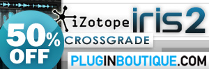 iZotope Iris 2 Crossgrade Summer Sale