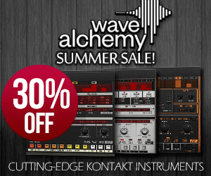 Wave Alchemy Kontakt Instrument Summer Sale