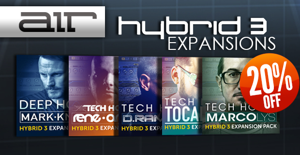Air Music Technology Hybrid 3 Expansions