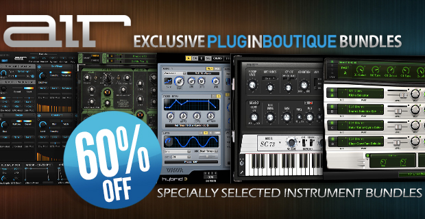 Air Music Tech Exclsuive Plugin Boutique Bundles Sale