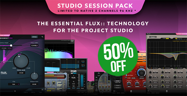 Flux Studio Sessions Pack Introductory Sale