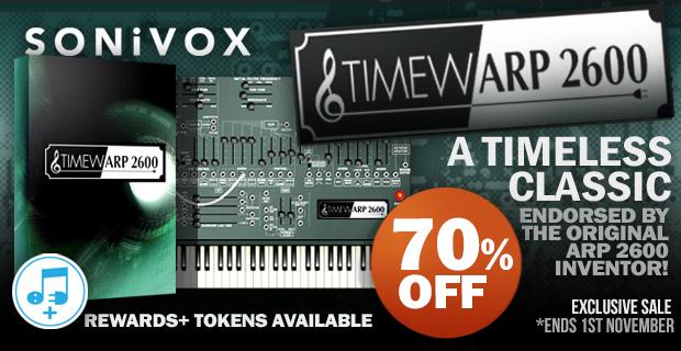 SONiVOX TimewARP 2600 Sale