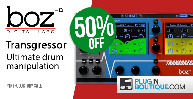 Boz Digital Labs Transgressor Introductory Sale
