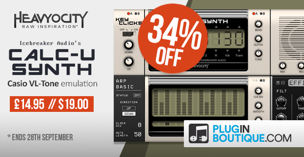 Heavyocity Calc-U-Synth: Save 34% off at Plugin Boutique