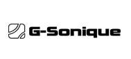 G sonique logo white copy original