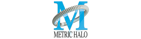Metric halo logo