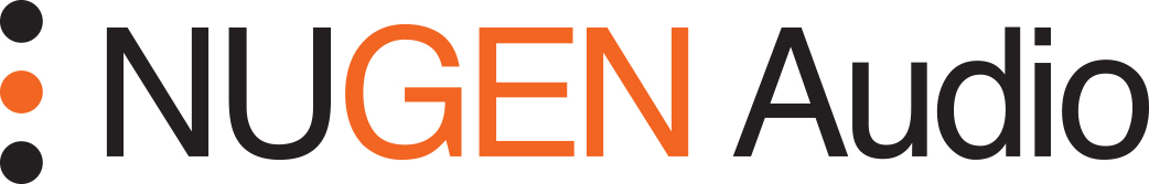 Nugen audio logo w reverse