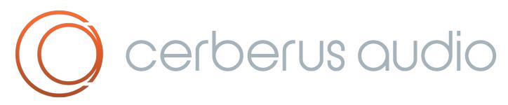 Cerberus audio logo resize pluginboutique