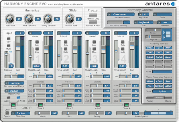 Auto Tune Vocal Studio - TDM