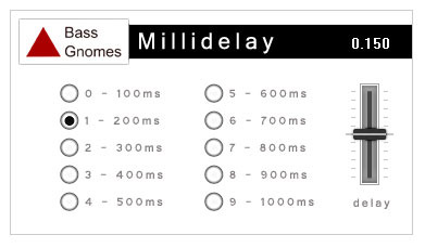 Millidelay