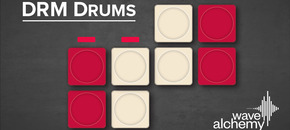 Drm drums banner