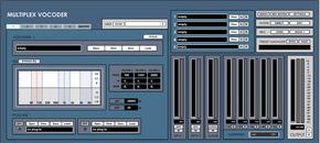 Multiplex vocoder interface
