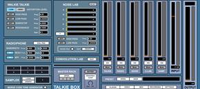 Talkie box interface