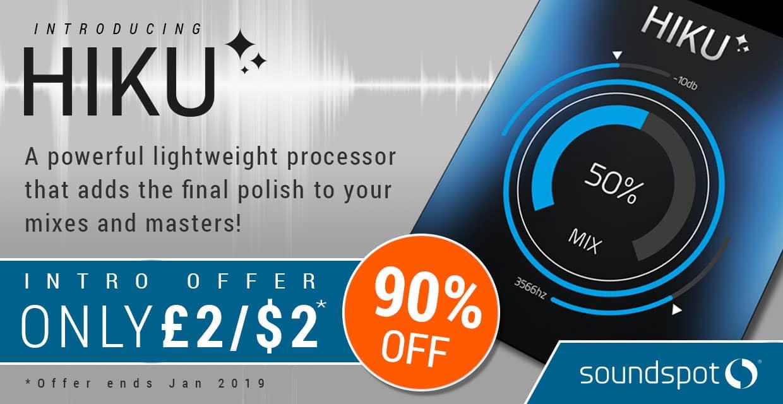 Soundspot hiku mastering vst sale banner