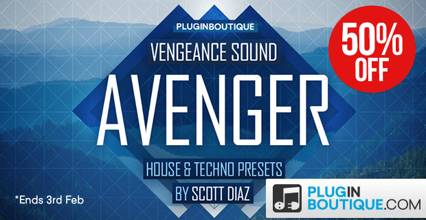 620x320 pluginboutiqueavenger preset pack house   techno sale