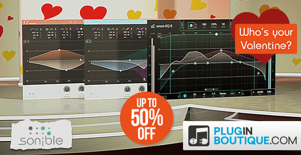 Sonible Valentines Sale: Save at Plugin Boutique