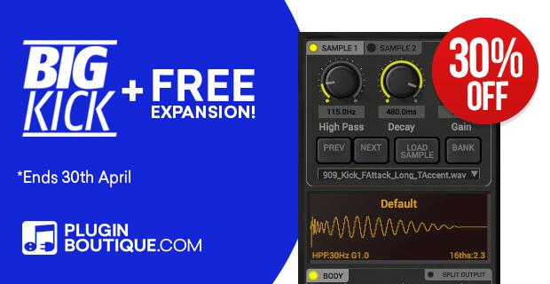 620x320 bigkick free expansion 30 pluginboutique