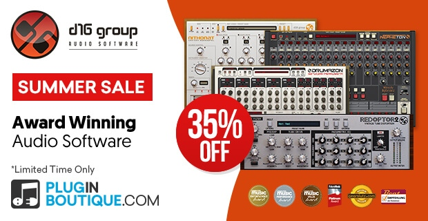D16 Summer Sale: Save at Plugin Boutique