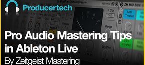 Pro audio mastering tips in ableton live   pluginboutique