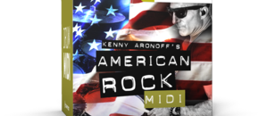 American rock midi