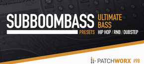Ultimate bass  subboombass synth presets pluginboutique